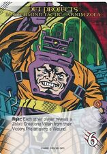 ARNIM ZOLA Upper Deck Marvel Legendary MASTERMIND TACTIC PET PROJECTS