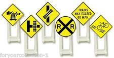 Lionel Railroad Signs # 6-37120