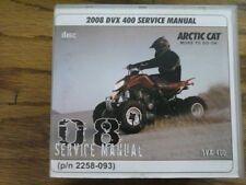 2008 Arctic Cat DVX 400 ATV Service Manual (P/N 2258-093)