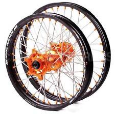 SM PRO PLATINUM MOTOCROSS WHEEL SET KTM ALL SX SXF FRONT 21X1.60 REAR 19X2.15