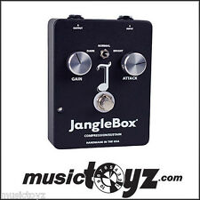 JangleBox Guitar Compressor Pedal, The NEW Improved Model, FREE Gift Free USA 48