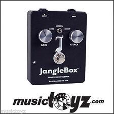 JangleBox Guitar Compressor Pedal, The NEW Improved Model, FREE Gift Free USA 48