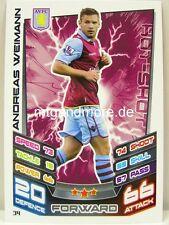 Match coronó 2012/13 Premier League - #034 andreas Weimann-aston villa