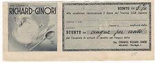 COUPON BUONO SCONTO PER ACQUISTARE CERAMICHE RICHARD GINORI 1948  3-374