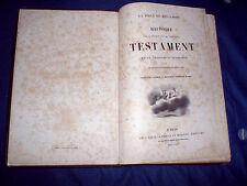La Bible de Royaumont 1954 histoire de l'ancien et du nouveau testament