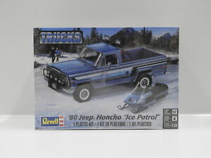 "1:24 1980 Jeep Honcho ""Ice Patrol"" Revell 7224"