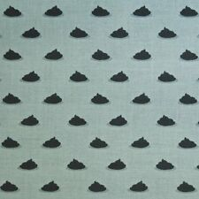 MM49 Pugs Puppies Mini Poo Poo Dots Dog Poop Dots Silly Cotton Quilt Fabric