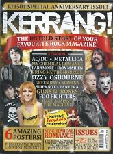 KERRANG! #1501 JAN 2014: MY CHEMICAL ROMANCE Iron Maiden NIRVANA Slipknot