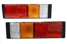 Holden Rodeo Tail Light Pair Tray Back Ute KB TF RA 81-06 lamps stop lens