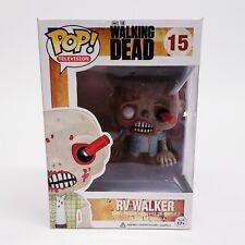 New Funko Pop The Walking Dead RV Walker Zombie #15 VAULTED SCREWDRIVER IN EYE *