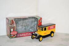 Ertl Coca-cola 1/25 Graham camionnette tôlée Delivery Truck 1927 Réf.27246 Bank.