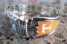 cuff band watch Nwt Tennessee Volunteers Silver tone