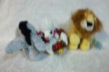 "Eeyore Webkinz Lion 8"" Barbie Dog Collar M/L Plush Soft Toy Stuffed Animal"