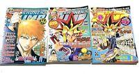 Lot of 3 Shonen Jump Naruto Magazines Nov 2005 2006 Jan 2006