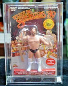 1989 WWF LJN Wrestling Superstars '89 Hacksaw Jim Duggan Black Card Figure