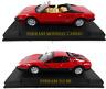 Set of 2 Ferrari Mondial Cabrio + 512 BB - 1:43 IXO Altaya DIECAST MODEL CAR