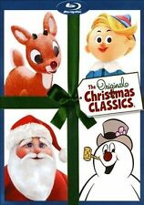 THE ORIGINAL CHRISTMAS CLASSICS (Blu-ray Set) Frosty/Rudolph/Santa Claus