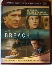 Breach (HD DVD, 2007, HD DVD and DVD Combo Chris Cooper, Ryan Phillippe, Kathlee