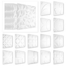 100qm 3D Pannelli Decorazione Parete per Soffitto Murale PVC 50x50cm, HD Serie 2