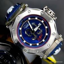 Invicta Jason Taylor JT Hall of Fame Blue MOP Leather 52mm Automatic Watch New