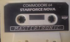 StarForce Nova (Mastertronic) c64 casete (tape) funciona 100%