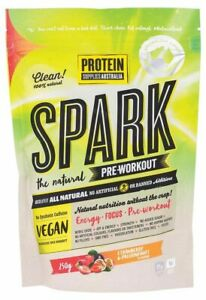 Protein Supplies Australia SPARK Natural Pre Workout - Strawberry Passionfruit 2