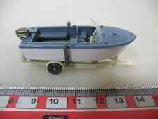 H376-0,5# WIKING H0 Anhänger mit Motorboot, 95, NEUW
