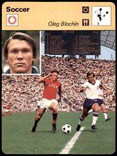 Editions Rencontre Sportscaster Football Card (1977-80) - Oleg Blochin