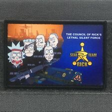 Tactical Outfitters - SEAL TEAM RICKS MORALE PATCH - rick and morty 6 Six