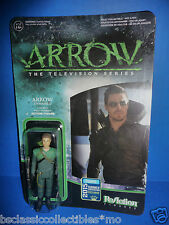 SDCC 2015 Arrow Unmasked ReAction Figure - Funko Convention Exclusive New!