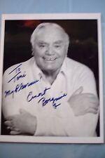 Ernest Borgnine Signed Autographed 8 x 10 Photograph