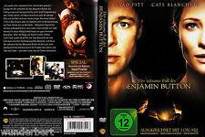 *g- DVD - Der seltsame FALL des Benjamin BUTTON - PITT/BLANCHETT 159 min (2008)