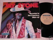 SLY STONE recorded in san francisco 1964-67 LP Sculptur Rec. US 1970 FUNK SOUL