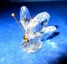 Swarovski Silver Crystal BUTTERFLY Signed Mint