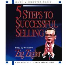 5 Steps To Successful Selling by Zig Ziglar - Audiobook CD