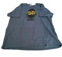 Denny Matthews Kansas City Royals 50th anniversary broadcasting Sz XL SGA Shirt