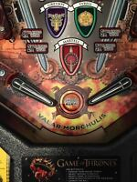 Swords - Pinball Machine Flipper Bat MOD for Stern's GoT, LOTR, MM and MMr