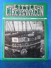 Little Circus Wagon 1990 March April Circus Model Builders International