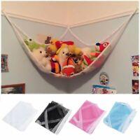 Jumbo Hammock Toy Net Organizer Corner Stuffed Animals Kids Hanging/Bath Toys US