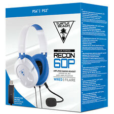 Turtle Beach Ear Force Recon 60P Bianco Cuffie per Giochi PS4/Xbox One / Pc/Mac