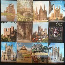 SAMMLUNG PAKET - 25 FÜHRER durch die Kathedralen und Burgen Großbritanniens