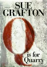 Q Is For Quarry * Sue Grafton * 1st US Edition * SIGNED