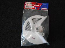 Polisport Front Disk Cover, White, Fits '09-'10 Honda CRF 450 R