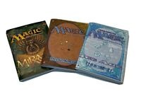 Lot Of 3 Magic the Gathering Starter Deck Rule Books Mirage 4th Edition Ice Age