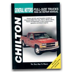Manuals & Literature Automotive Chevorlet GMC PICK UP Repair ...