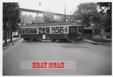 6H597 RP 1950s CINCINNATI STREET RAILWAY CAR #51 TRAILER RTE 19