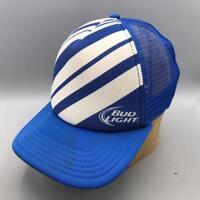 Vintage Bud Light Mesh Adjustable Snapback Trucker Hat Cap