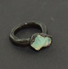 1 Pc Raw Opal Rough High Fire Beautiful Gemstone Stackable Ring Jewelry