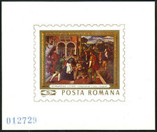 Romania 2130 S/S, MNH.Painting:Bernardino Licinio,Italian High Renaissance,1969