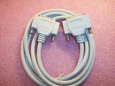 QTY (1) IEEE1284 RS-232 SERIAL PARALLEL CABLE DB-25M / DB-25M 7 ft 174-6220-00